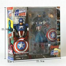 Kaiyodo Revoltech Amazing Yamaguchi Captain America Action Figure Toy New Box A