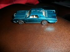 1969 Redline Hot Wheels Custom Lincoln Continental Aqua White Interior Us