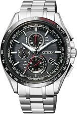 NEW JAPAN CITIZEN 2016 ATTESA Eco-drive radio clock AT8144-51E Men's Watch F/S