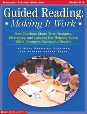 Guided Reading: Making It Work (Grades K-3)-ExLibrary