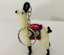 Peruvian Tiny Llama Keychain, ethnic decoration, gifts, Lucky charm