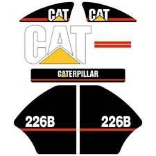Cat 226B Decals | Repro decal sticker kit | UV Laminated 6 Year vinyl