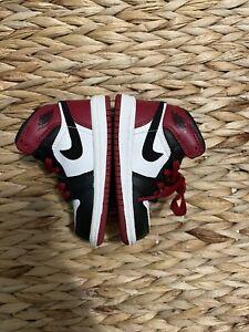 jordan 1 Black Toe Old Love Size 4c