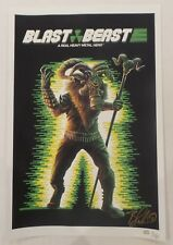 WonderCon 2018 EXCLUSIVE Nuclear Blast BLAST BEAST signed by Blake Armstrong