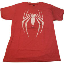 Marvel comics Spider-Man logo tee Men's T-shirt size Large