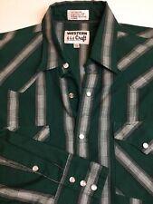 Western Craft Pearl Snap Button Western Shirt