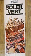 SOLEIL VERT !  charlton heston  affiche cinema science fiction  1973