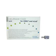Ivoclar Vivadent 626392 IPS e.max CAD CEREC inLab Blocks HT A2 I12 5/Pk