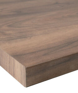Romantic Walnut Wilsonart 38mm Laminate Kitchen Worktop + Free Edging Strip