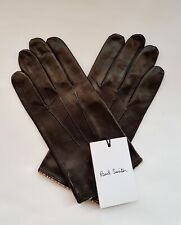 New Paul Smith Men's Gloves 100% Leather