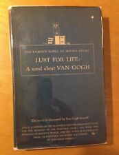 IRVING STONE- LUST FOR LIFE -1937 HC/DJ HERITAGE REPRINT VINCENT VAN GOGH