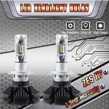 ZES H7 LED Headlight Bulbs Kit High or Low Beam 6000K White Xenon VS 35W 55W HID