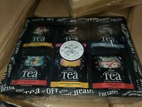 Disney Parks Alice in Wonderland Tea Chest Box NEW Jewelry Trinket Bags Expired