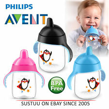 Philips Avent Premium Baby Spout Cup│Independent Drink│Hygiene Cap│BPA Free│340m