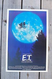 E T Lobby Card Movie Poster ET