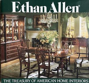 Vintage ETHAN ALLEN Treasury of American Home Interiors Catalog 1980s Edition