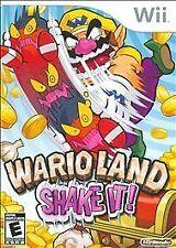Wario Land: Shake It! (Wii) NEW