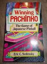 Winning Pachinko Book - The Game of Japanese Pinball by Eric C. Sedensky - Rare