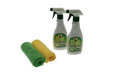 Howard Naturals Stainless Steel Cleaner  lemongrass & lime  Pair offer