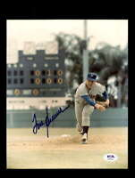 Tom Seaver PSA DNA Coa Hand Signed 8x10 Photo Autograph