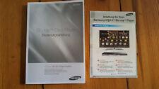 Bedienungsanleitung Manual Samsung Blu Ray Player D6500 3D
