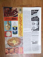 1960 Morton's Salt Ad  Potato