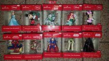 Hallmark Christmas Ornaments (Disney,Star Wars, Marvel, DC)