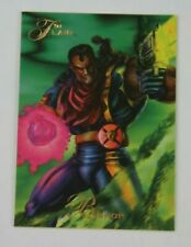 1994 FLAIR MARVEL CARD BISHOP  X-MEN GOLD MUTANT GENESIS