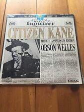 Citizen Kane - Orson Welles, 50th Anniversary Edition - Laser Disc Brand New