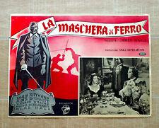 LA MASCHERA DI FERRO fotobusta poster James Whale The Man in the Iron Mask S31