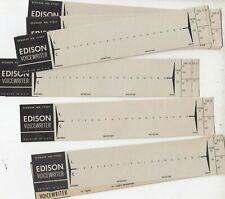 12 lot Edison Voicewriter recorder paper Strips