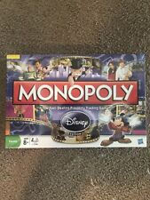 Monopoly - Disney Edition 2009 with Golden Tinkerbell  Mover New Sealed