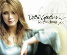 Delta Goodrem Lost Without You CD Single Rare Popular Song! From Innocent Eyes