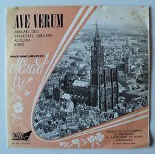 """Choeur de la Cathedrale de Strasbourg - Ave Verum Corpus - Omega (France) - 7""""EP"""