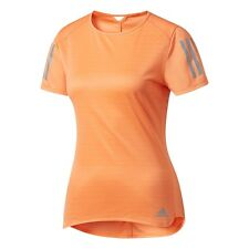 Camiseta de deporte de hombre de manga corta naranja