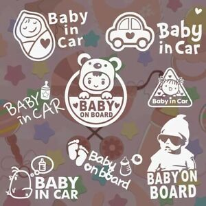 baby on board sign/baby in car sign