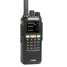 Zastone ZT889G GPS Walkie Talkie VHF UHF Two Way Radio 999CH 134-174 400-520MHz