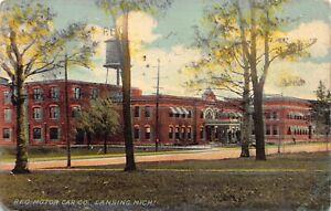 Postcard Reo Motor Car Company Ransom E. Olds in Lansing, Michigan~129394