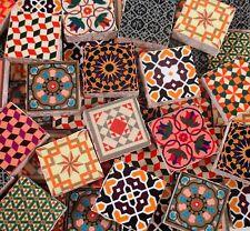 Ceramic Mosaic Tiles - Medallions Moroccan Vintage Colors Tiles Mosaic Tiles