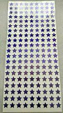Purple Stars - Glitter Holographic Sparkle Waterproof Stickers Peel Offs 10 mm