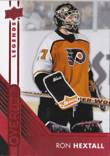 16-17 Upper Deck Overtime Ron Hextall /99 RED Parallel Flyers 2016