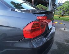Carbon BMW 06~11 E90 3-series sedan high kick Performance type trunk spoiler ◎