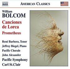Bolcom: Canciones de Lorca; Prometheus (CD, Nov-2015, Naxos (Distributor))