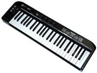 Pro Audio Series MIDI Keyboard Controller - Black 49 Key Pitch-bend & Modulation