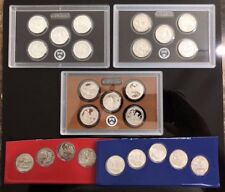 2017 national park quarters set Silver,Enhanced,BU,Clad 25 Coins Limited Hurry
