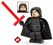 Lego Star Wars The Last Jedi Kylo Ren minifigure with cape *NEW* from set 75179