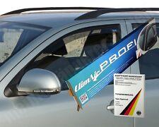 Climair Negro Teñido viento desviadores de VW PASSAT BERLINA B8 Conjunto de 2014 en adelante