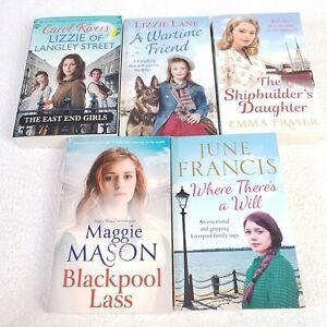 Womens Fiction 5 Book Bundle Historial Romance Carol Rivers Maggie Mason