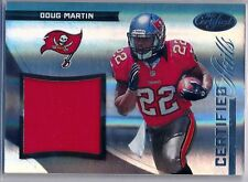 DOUG MARTIN - 2012 Certified Skills RC Materials Jersey - Buccaneers RC /299