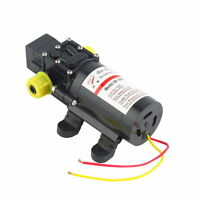 12V Water Pump 4Lpm Self-Priming Caravan Camping Boat W #